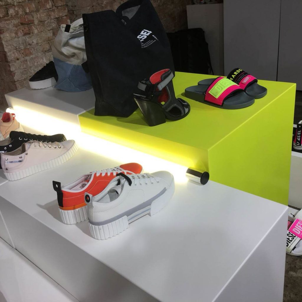 Retail led verlichting lichtrol Fashion Theather